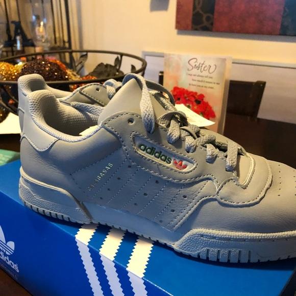 le adidas yeezy powerphase calabasas grey poshmark